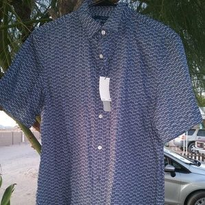 Perry Ellis button up